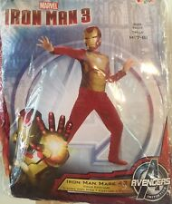 Child's Size 7/8 Marvel Iron Man Halloween Costume New