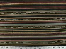 Grand Stripe Onyx 100% Polyester Fabric