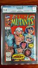 New Mutants (1983 1st Series) #87 CGC 9.8, 1st print, 1st appearance of Cable