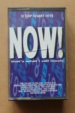 NOW THATS WHAT I CALL MUSIC 18 EMI/VIRGIN TCNOW18 DOUBLE CASSETTE PLAY TESTED