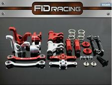 FID 15t CNC alloy steering and dual servo arm for losi dbxl 1/5 rc car gas 1 set