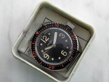 NOS VERY RARE RAKETA AMPHIBIAN MILITARY DIVER SOVIET WATCH BOX&DOCUMENT SS CASE