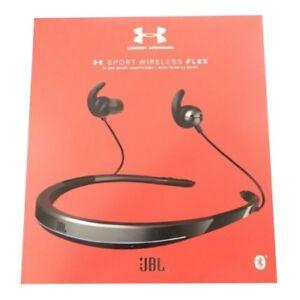 New Under Armour JBL Sport Wireless Neckband Flex Headphones Black