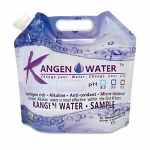 Kangen Water Bags 5 Litre BPA Free Reusable. Authentic Brand New You Buy 20 Bags