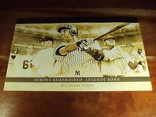 2012 Yankees Season Ticket Book Derek Jeter PLUS 2 Mike Trout 30th SB 30/30 Club
