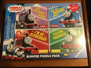 Thomas & Friends Bumper Puzzle Pack By Ravensburger Aged 4+ Brand New