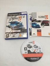 WRC 3 The Official Game Of The FIA World Rally Championship / Ps2  Autographed *