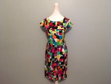 Collection London multi coloured dress size 12