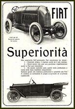 PUBBLICITA' 1919 AUTO FIAT S76 300 HP RECORD 28000CC BORDINO BROOKLANDS SALTBURN