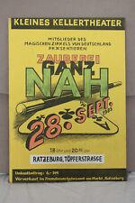Kleines Kellertheater Ratzeburg, Magischer Zirkel, Zauberei ganz Nah Plaket 1985