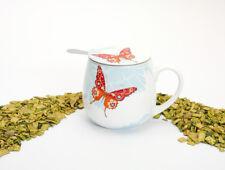 Könitz Porzellan Becher Kuschelbecher Tea for you Bijou Schmetterling 420ml