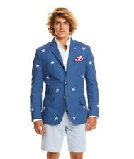 Vineyard Vines Stars & Stripes Sportcoat Blue Blazer Mens 40 Long *NEW* $399
