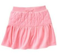 NWT Gymboree Parisian Pink Chic Quilted Velour Skort Skirt,Size 10