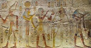 EGYPT ANCIENT  PYRAMID pharaohs photo landscape A0 CANVAS PRINT  Egyptian old