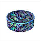 Skin Decal for Amazon Echo Dot 2 2nd gen/ Abalone Sea Shell Green Blue Purple