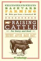 Raising Cattle : For Dairy and Beef, Paperback by Pezza, Kim, Brand New, Free...