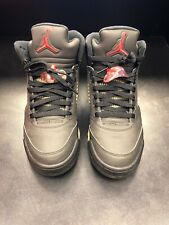 wholesale dealer 00b3c 94524 NIKE AIR JORDAN V 5 RETRO DMP RAGING BULL BLACK TORO 3M Reflective Size 7.5
