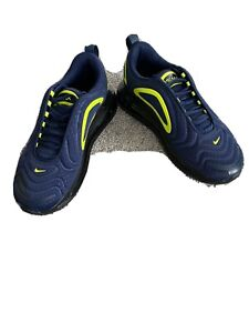 Nike air max trainers / sneakers 720 Navy size 6