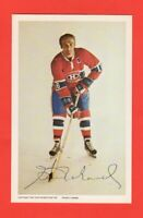 1972-73  Henri Richard  Montreal Canadiens Postcard Rare Nrmnt-mt