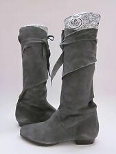 $385 NWB Lisa for Donald J. Pliner Sherif Knee High Boots Forest Suede Women's 6