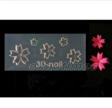 3D Acrylic Mold Pentacle Petal Shape Nail Art Tips UV Gel DIY Decoration Design