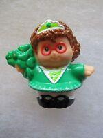 New! ST. PATRICKS DAY MAGGIE SHAMROCK Saint Patrick's Fisher Price Little People