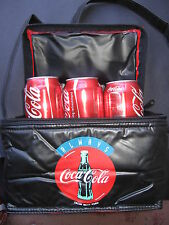 "Coke Cola Cooler Bag Holds 6 X 375ml Drink Cans ""great Xmas Birthday Gift"