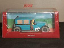 Tintin Libro Comic Taxi Checker en América EE. UU. modelo Diecast Coche Clásico + Figura