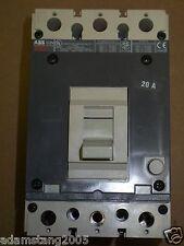 ABB S3N 3 pole 20 amp 600v Circuit Breaker