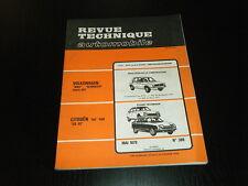 REVUE TECHNIQUE AUTOMOBILE RTA N° 389 CITROEN GS 1130 / GS X3