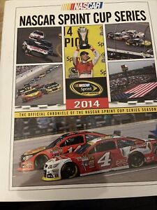 2014 NASCAR Sprint Cup HTF Yearbook VGC Kevin Harvick Champion Rare Edition