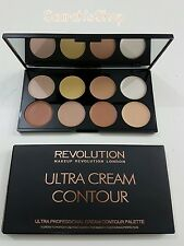 Contour Cream Palette Makeup Revolution Ultra Contouring Sculpting Highlighting