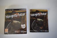 naughty bear ps3 ps 3 playstation  3