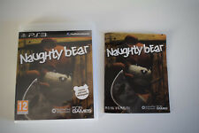 naughty bear ps3 ps 3 playstation  3