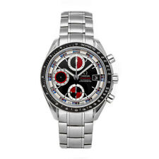 Omega Speedmaster Day-Date Chrono Auto Steel Mens Bracelet Watch 3210.52.00