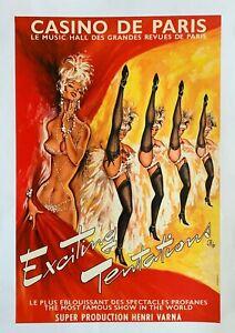 Original vintage poster - Okley - Casino de Paris - Circa 1980