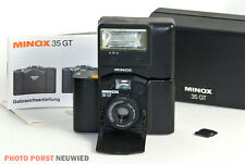 Minox 35 GT + Minox FC35 Blitzgerät * Kleinbildkamera-Legende in gutem Zustand *