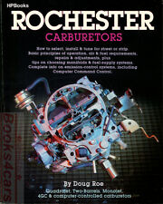 ROCHESTER CARBURETORS BOOK HP HOW TO MANUAL REPAIR SHOP SERVICE ADJUST ROE DOUG