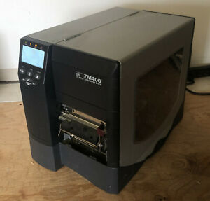 ZEBRA ZM400 Thermal Label Industrial Printer1