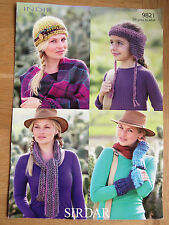 Sirdar Indie - Pattern No. 9821 -  Accessories