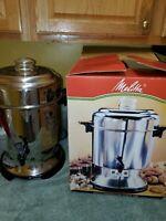 Melitta Banguet Urn 45 Cup Coffee Maker Percolator #MEU45