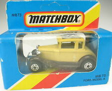 MATCHBOX NO 73-Ford Model A-NEUF dans blister-OVP-New in Box