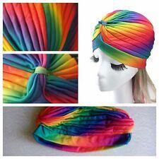 USA  SELLER - Newly Design India Turban Hat Men Women Beanies Caps