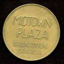 Midtown Plaza Saskatoon Parking Token Saskatchewan Canada SK 3900-B