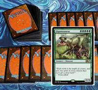 mtg GREEN GARRUK DECK Magic the Gathering rares 60 cards gigantosaurus hydras