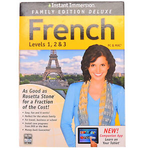 FRENCH LEVELS 1 2 AND 3 FAMILY EDITION