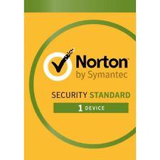 Norton Security Standard 2020 - 1 User 1 Pc 1 Year (Activation keys online)