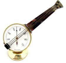 Vintage Desk Thermometer Ukulele Instrument Shape France