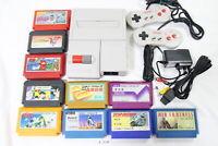 Tested! Nintendo New Famicom Console AV NES 100V-240V NTSC-J Japan Rider #3130