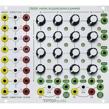 TipTop AUDIO z8000 Matrix sequencer Modulo EURORACK